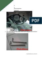 DIY Alternator Peugeot 405 STI