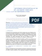 Poteciar las estrategias comunicativas en las clases de ELE