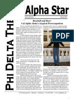 Alpha Star - Spring 2008
