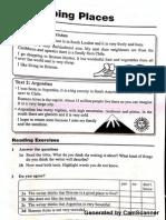 ESL Describing Places  Writing Worksheet