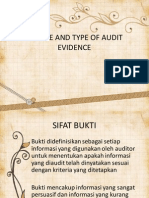 nature and type of evidence