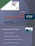 India Intrl Trade