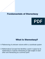 Fundamentals of Stereotaxy