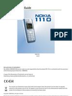 NOKIA 1110 User Guide