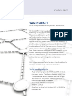WirelessHART Solution Brief