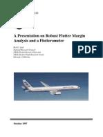 Robust Flutter Margin Analysis and a Flutterometer