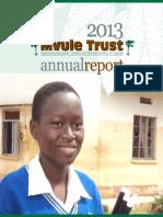 2013 Mvule Trust Annual Report