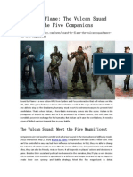 Bound by Flame_ the Vulcan Squad – Meet the Five Companions