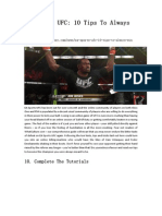 EA Sports UFC_ 10 Tips to Always Win