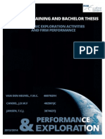 Thesis on exploration in Business Management