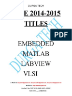 FINAL YEAR PROJECTS IEEE 2014-2015