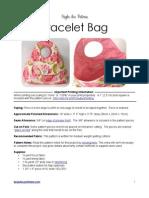 Bracelet Bag Sewing Pattern