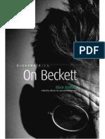 Alain Badiou, On Beckett