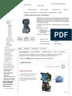 EJA110A Differential Pressure Transmitter _ Yokogawa America