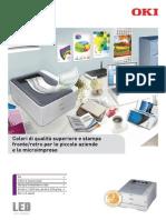 Stampante OKI C301 C321 Brochure Italiano