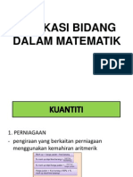 Aplikasi Bidang Struktur Dalam Matematik New