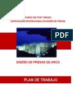 Plan de Trabajo Módulo Presas de Arco