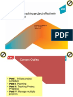 Planning and Tracking Project Effectively Use MS Project