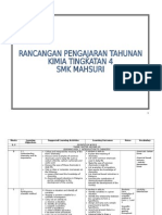 Yearly Lesson Plan Chemistry f4