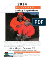 Deer Hunting Regulations - Wisconsin