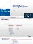 Opportunity in Food Processing Industry in India_Feedback OTS_2014