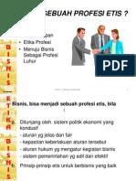 Bisnis Sebuah Etika - Bab Ib