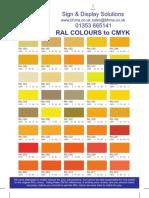 RAL Colour Converter