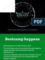 Bootcamp Structure