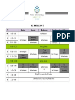 schedule for parents
