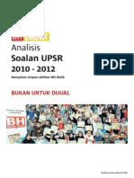Analisis Soalan UPSR 2010 - 2012 (1)