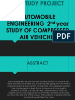 Presentation on Compressed Air Vehicles