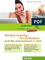 Blended Learning Duo English 2011