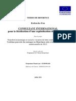 TdR_Consultant International Pour La Réalisation d'Une Capitalisation Des Expériences_Mauritanie