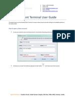 Vertex Fx Client User Guide