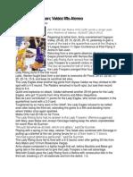 Sports Writing Sample