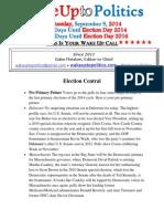 Wake Up to Politics - September 9, 2014