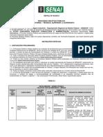 Edital CETRO n 003-Instrutores de Nivel Tecnico e Superior