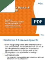 JavaScript Basics & HTML DOM