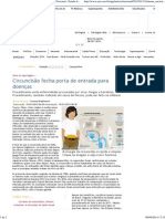 Circuncisão Fecha Porta de Entrada Para Doenças