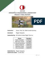 Flight Test Report