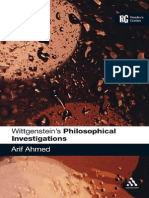 Arif Ahmed Wittgensteins Philosophical Investigations a Readers Guide 2010