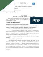 Estudo MP 2186