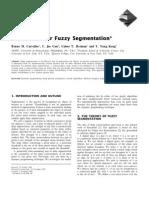 Algorithms for Fuzzy Segmentation