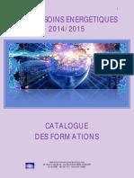 Catalogue Des Formations Soins Énergétiques - 2014-2015
