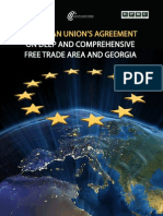 EUROPEAN UNION'S AGREEMENT ON DEEP AND COMPREHENSIVE FREE TRADE AREA AND GEORGIA