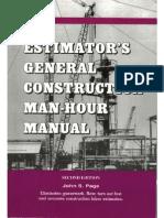 Construction Man Hour