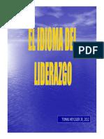 Idioma Del Liderazgo