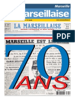 Le cahier spécial des 70 ans de la Marseillaise