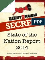 R2K Secrecy Report 2014