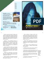 Panfleto - Quem e o Anticristo